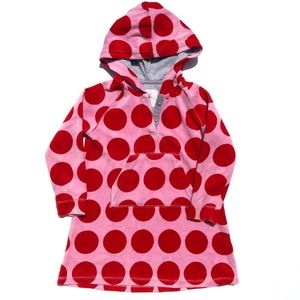 Mini Boden swim coverup red & pink size 3-4Y